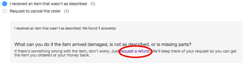 eBay 返金 保証
